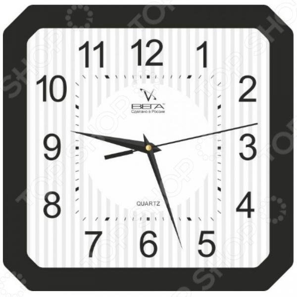 Часы настенные Вега П 4-6/6-18 часы вега п 1 8 6 208 мусульманские темный город