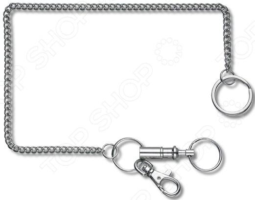 Цепочка с кольцом для ключей Victorinox 4.1854 цепочка с кольцом для ключей и карабином victorinox 4 1813