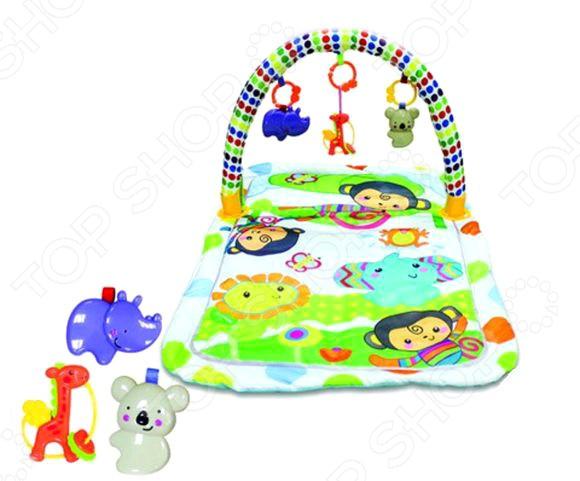 Коврик игровой Наша Игрушка с игрушками «Обезьянки»