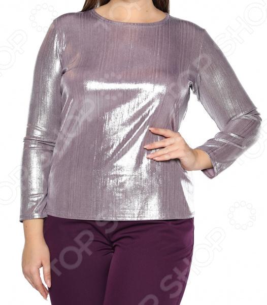 Блуза Blagof «Изысканный блеск». Цвет: сливовый