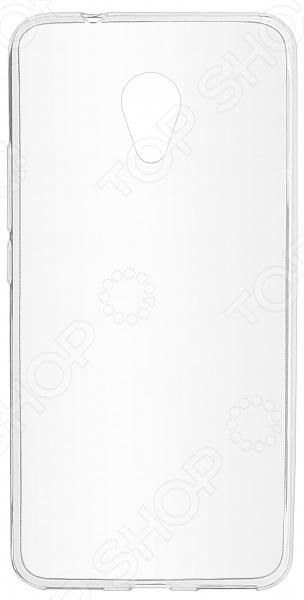 Чехол защитный skinBOX Meizu M5S чехол для meizu m3s mini skinbox 4people красный