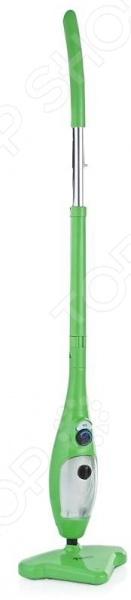 Швабра паровая Bradex Steam Mop X5 практичное устройство, которое поможет держать помещение в чистоте и порядке, а процесс уборки делает максимально легким и комфортным. Благодаря конденсируемому в швабре пару даже въевшиеся пятна грязи с пола или ковровых покрытий удаляются в два счета. Устройство отличается компактными габаритами и небольшим весом, а треугольная форма чистящей головки позволяет обрабатывать даже самые труднодоступные места. Система шарниров обеспечивает подвижность головки и ее маневренность. Подвергаясь активному воздействию пара поверхности пола, мебели и домашнего текстиля очищаются от микробов, бактерий и паразитов. Швабра прекрасно подойдет для удаления загрязнений с мраморных, керамических, каменных покрытий, а также линолеума, паркета и даже древесины. Укомплектованные насадки превращают швабру в пароочиститель, позволяя за считанные минуты удалить пыль и грязь с оконных рам и стекол, сантехники, бытовой плитки и пр. Перед применением необходимо наполнить резервуар объем 400 мл чистой дистиллированной водой, затем подключить швабру к сети питания. Через несколько минут активируется индикатор зеленого цвета, который известит пользователя о готовности прибора к работе. Первый запуск устройства должен сопровождаться периодическим нажатием кнопки пуска 3-5 минут . При этом раздается шипение, которое свидетельствует о том, что очищаются узлы устройства и фильтра. Следует нажимать кнопку до тех пор, пока не пойдет очищенный пар, пригодный для уборки. В комплекте:  швабра;  стержень для очистки;  пульверизатор;  насадка с синтетическим ворсом;  насадка из металла;  щетка;  щетка для окон скребок ;  насадка для одежды;  удлиняющий шланг;  глидер;  мерный стакан;  инструкция.