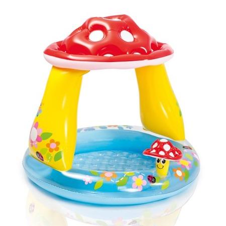 Купить Бассейн надувной детский Intex «Мухомор»