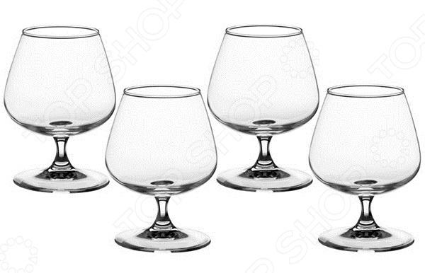 Набор бокалов для коньяка Luminarc Signature набор бокалов crystalex ангела оптика отводка зол 6шт 400мл бренди стекло