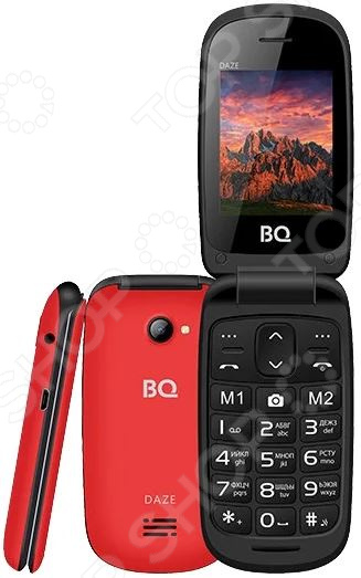 Мобильный телефон-раскладушка BQ 2437 Daze мобильный телефон bq mobile bq 2437 daze black