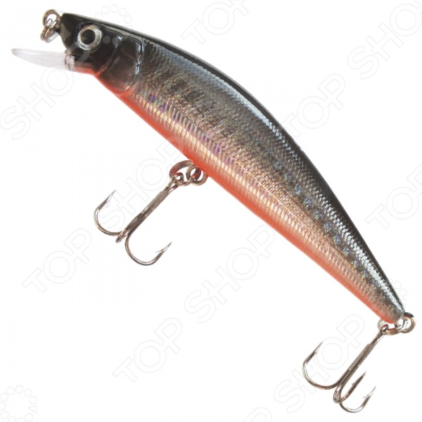 Воблер SANSAN Minnow Barabus 90F это объемная приманка, которая позволит вам поймать хищную рыбу как на реке, так и на озере. Эта приманка похожа на маленькую пузатую рыбку, которая за счёт своего цвета хорошо видна хищной рыбе, особенно щуке! Особенность воблеров этой серии - их уникальная игра, которую они демонстрируют во время как рывковой, так и равномерной проводки. Приманка сильно отклоняется от линии проводки и двигается широкими галсами. Эта миниатюрная рыбка создана с особым вниманием к деталям и прекрасно справляется с имитацией обитателя водоема. В результате хищная рыбка не устоит перед видом приманки и попадется на ваш крючок. Главное, подобрать подходящую технику ловли, в зависимости от желаемой рыбы используйте троллинг или твичинг. Обратите внимание, этот воблер оснащен 2 крючками, а значит вы сможете за один раз выудить несколько рыб или подстраховать себя, если добыча слишком крупная. Впрочем, будьте аккуратны, ведь такие крючки часто застревают в прибрежной растительности, поэтому следует выбирать не слишком густые заросли для ловли рыбы. Выбирайте место в зависимости от времени суток, погодных условий и времени года, ведь в жаркий летний день любая рыба опускается на дно и ищет прохладу, а осенним утром вы наверняка увидите рыбу, которая плавает практически на поверхности. Воблер это одна из самых эффективных приманок для ловли хищной рыбы, которую используют наши рыболовы. Это объясняется тем, что вы можете подобрать приманку именно для вашего стиля рыбалки!