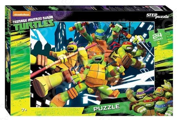 Пазл 24 элемента Step Puzzle maxi «Черепашки Ниндзя» puzzle 20 maxi большая репка с 02283