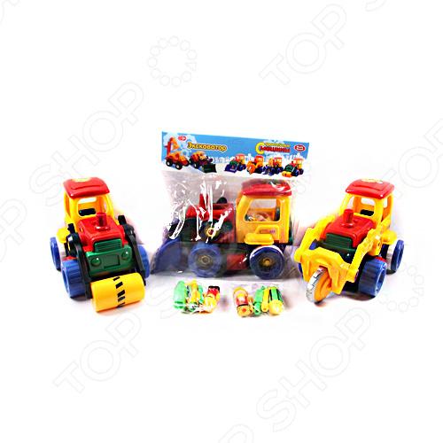 Конструктор-игрушка Joy Toy Р40803 Строительные машины конструктор cyber toy cybertechnic 2 в 1 303 детали 7781