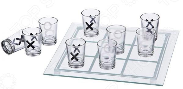 Игра алкогольная «Крестики и нолики»
