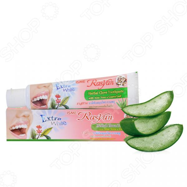 Зубная паста с растительными экстрактами Rasyan Cove Aloe Vera & Guava