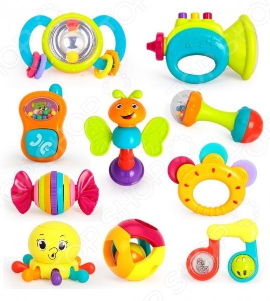 Набор игрушек-погремушек Huile Toys Y61173