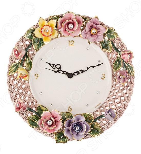 Часы настенные Orgia «Цветы» 335-244 orgia фигурка gil 19х26х28 см