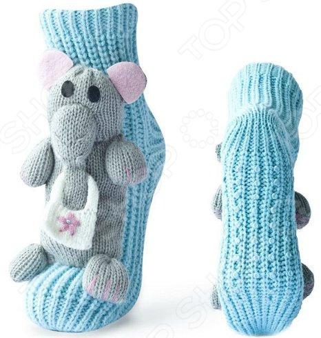 цена на Носки с игрушкой HOBBY LINE «Слон»