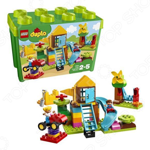 Конструктор для малышей LEGO «Большаяигроваяплощадка»