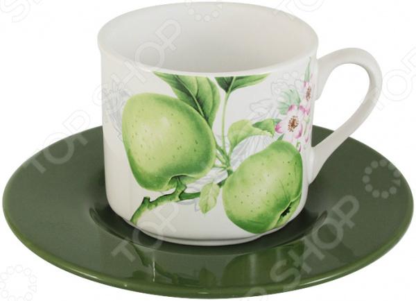 Чайная пара Imari «Зеленые яблоки» банка для сыпучих продуктов imari зеленые яблоки im55060 1 a2211al