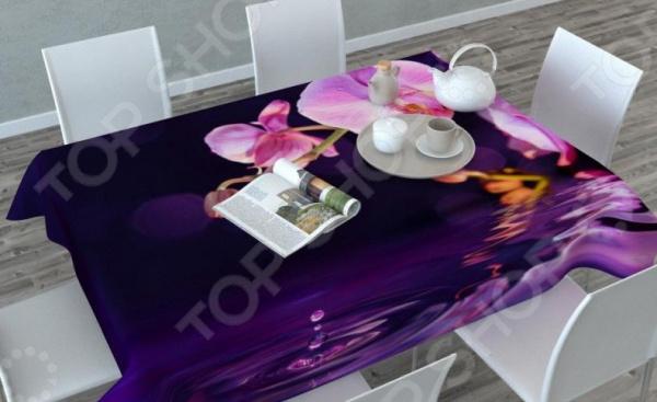 Фотоскатерть Сирень «Орхидея над водой» скатерть сирень орхидея над водой прямоугольная 145 x 120 см