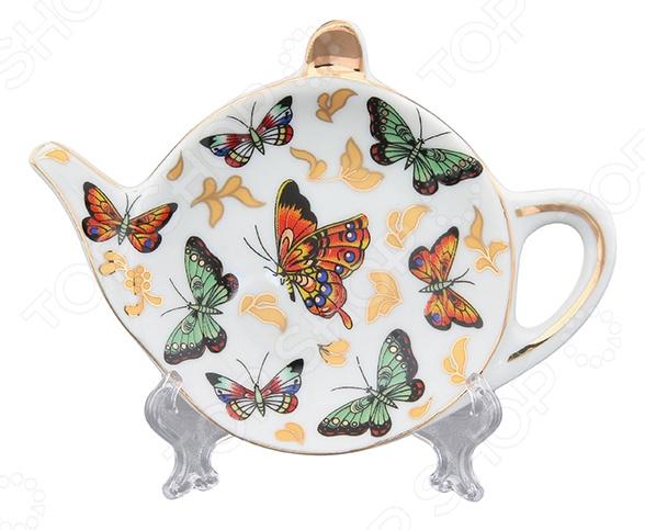 Подставка под чайные пакетики Elan Gallery «Бабочки»
