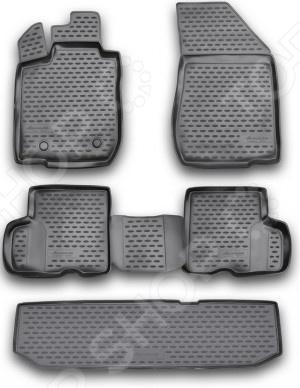 Комплект ковриков в салон автомобиля Novline-Autofamily LADA Largus 2012 4 novline autofamily lada ваз largus 2012 универсал на 4 окна