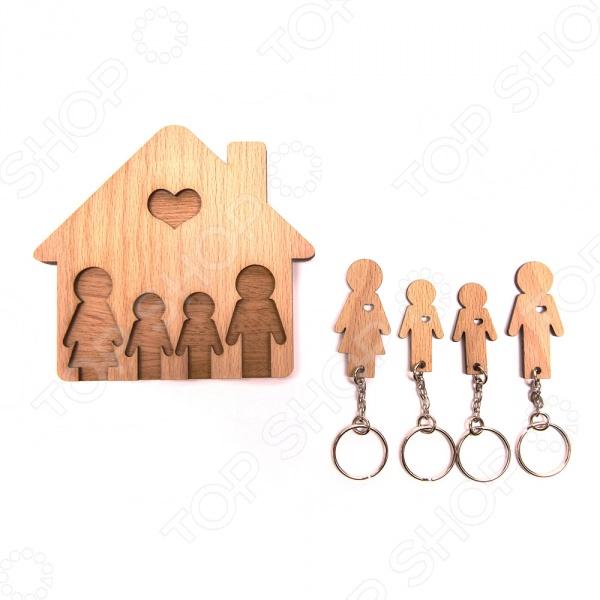 Ключница Mimi «Семья с двумя сыновьями»