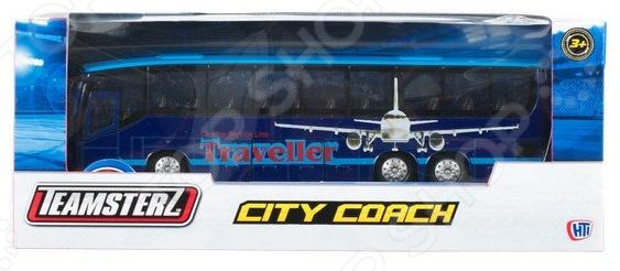 Машинка игрушечная HTI «Городской автобус» машинки siku городской автобус