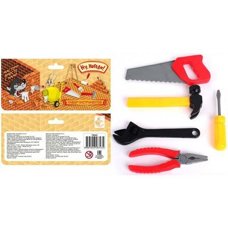 Купить Набор инструментов игровой 1 Toy «Ну, погоди!» Т58343. В ассортименте