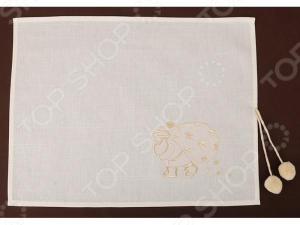 Салфетка для сервировки «Дед Мороз» 850-817-62