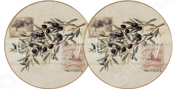 Набор десертных тарелок LF Ceramic «Оливки» кружка lf ceramic оливки 500 мл