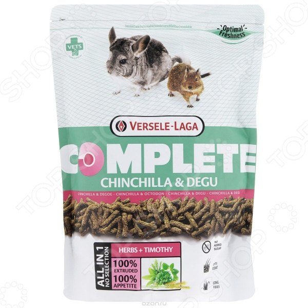 Корм гранулированный для шиншилл и дегу Versele-Laga Complete Chinchilla & Degu