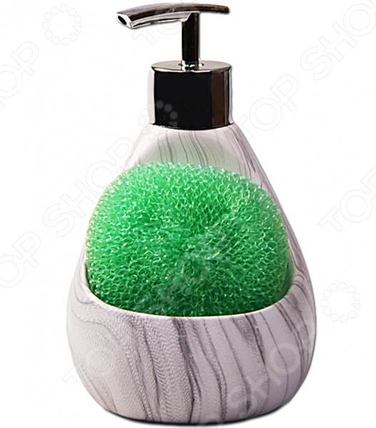 Дозатор для моющих средств с губкой Patricia IM99-2389 lacywear s40615 2389