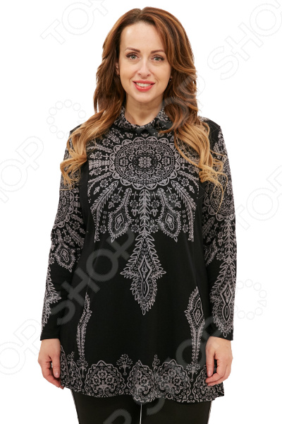 Туника Pretty Woman «Кармелитта». Цвет: черный юбка patrizia pepe patrizia pepe pa748ewtva16