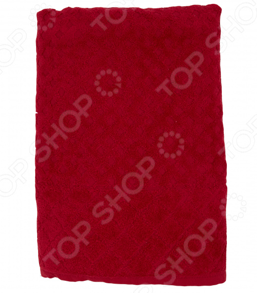 Полотенце махровое Романтика «Рахат-лукум». Цвет: бордовый авторские бусы рахат лукум перламутр хрусталь
