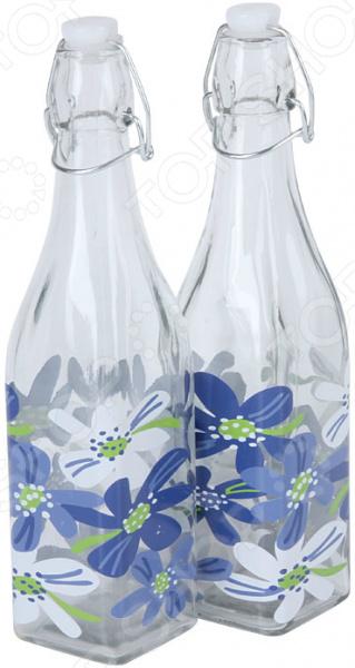 Набор бутылок для масла Rosenberg RGL-225010 набор для специй rosenberg rgs 075017