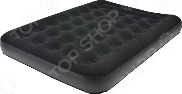 Кровать надувная Relax Flocked Air Bed Double кровать relax flocked air bed queen 20256 1