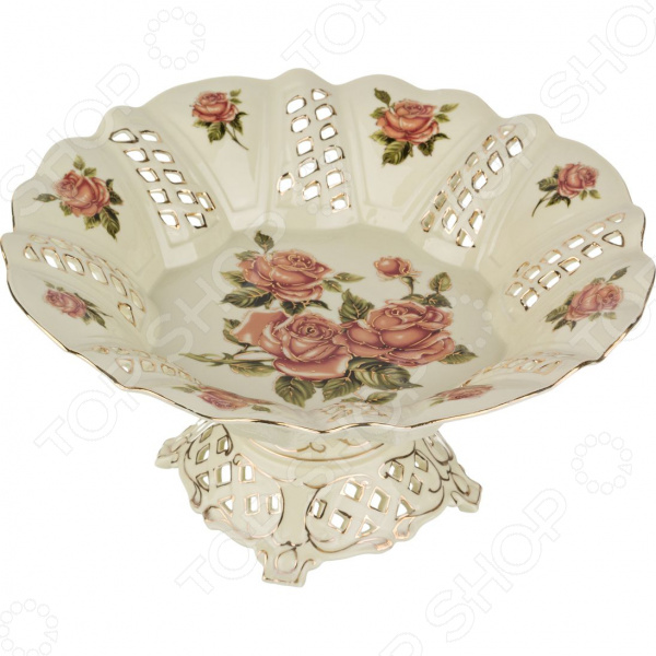 Фруктовница Lefard «Корейская роза» lefard фруктовница kenya 20х22х35 см
