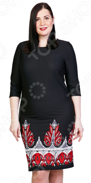 Платье Лауме-Лайн «Коронованная особа». Цвет: черный