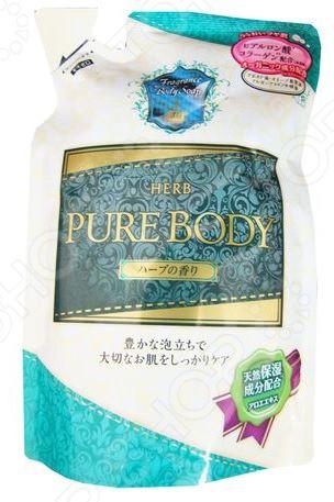Гель для душа Mitsuei Pure Body с ароматом луговых трав очищающий гель для душа с цветочным ароматом vprove vita e sensual body cleanser