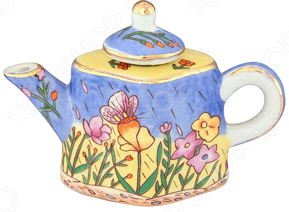 Чайник сувенирный Elan Gallery «Цветочный луг» Elan Gallery - артикул: 967593