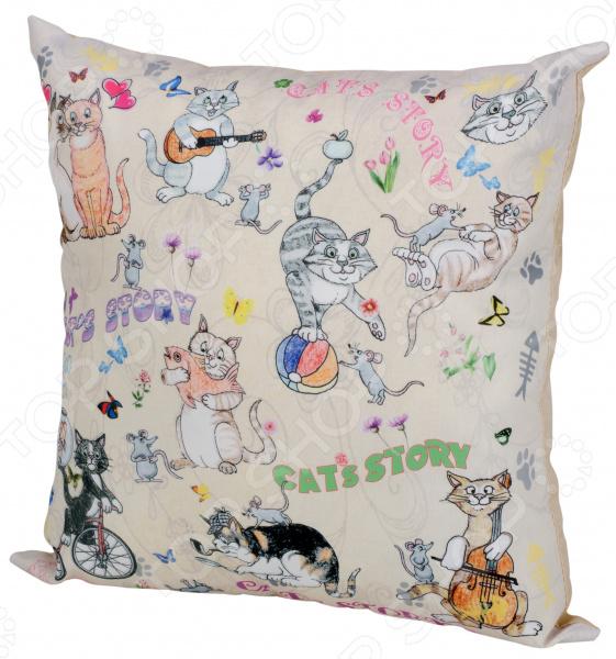 Подушка декоративная Gift'n'Home «Веселые кошки»