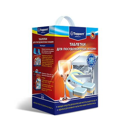 Купить Таблетки для посудомоечных машин «Формула чистоты»