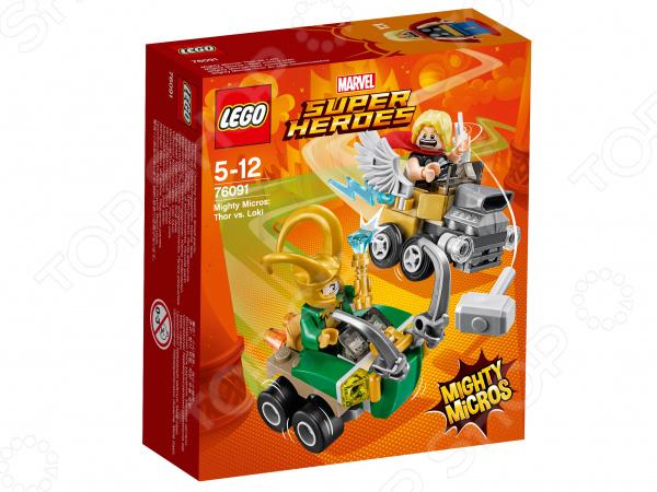 Конструктор игровой LEGO Super Heroes Mighty Micros «Тор против Локи» lego education 9689 простые механизмы