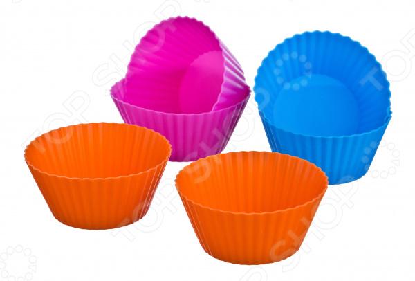 Набор форм для выпечки кексов Agness 710-104 набор форм для выпечки кексов tescoma кофе