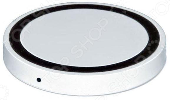 Аккумулятор для смартфонов беспроводной круглый Bradex с Lightning разъемом Аккумулятор для смартфонов беспроводной круглый Bradex SU 0049 /Белый