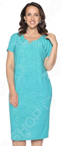 Платье Лауме-Лайн «Чудесная песня». Цвет: бирюзовый