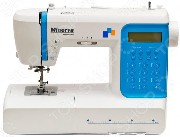 Швейная машина Minerva DecorExpert швейная машина minerva la vento 710lv белый розовый