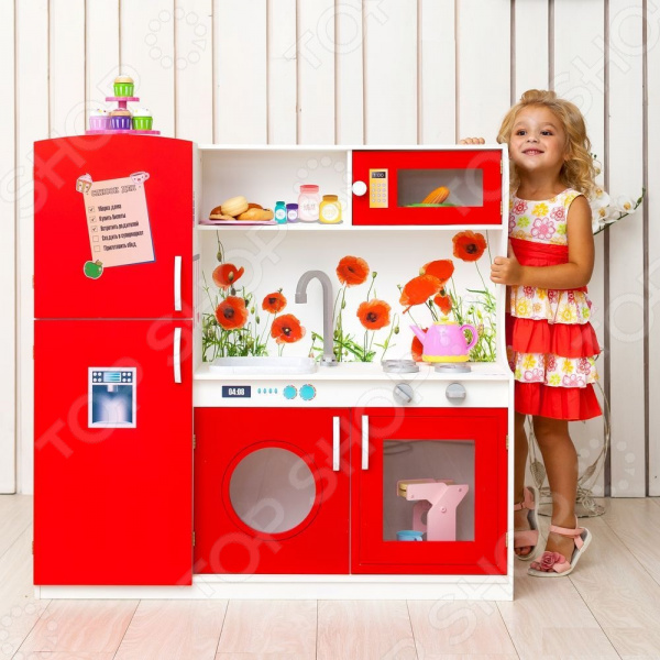 Кухня игрушечная PAREMO «Фиори Россо»