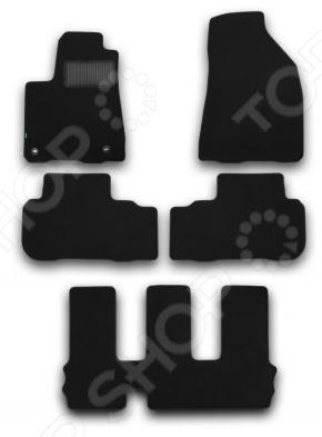 Комплект ковриков в салон автомобиля Klever Toyota Highlander 2014 Premium комплект ковриков в салон автомобиля klever toyota highlander 2014 standard