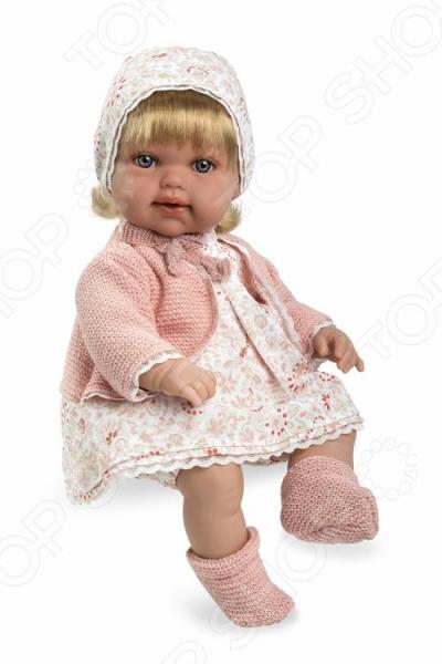 Кукла мягкая интерактивная Arias Т11084