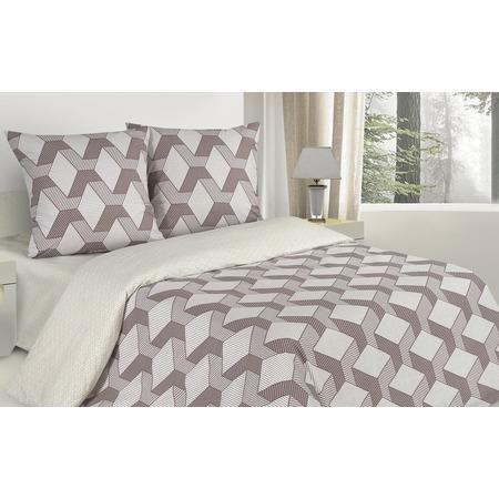 Купить Комплект постельного белья Ecotex «Поэтика. Квадро». 1,5-спальный