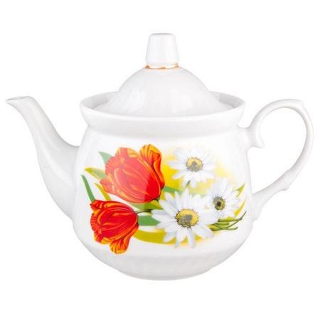 Купить Чайник заварочный ДФЗ «Ромашка с тюльпаном»