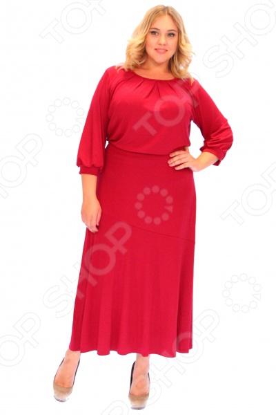 Платье Матекс «Алиша». Цвет: бордовый